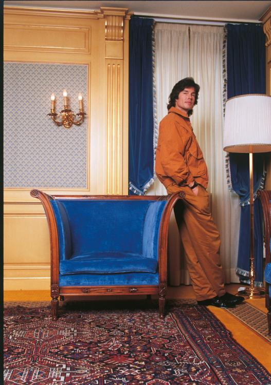 [141560940] Ronn Moss Leaning On An Armchair.jpg